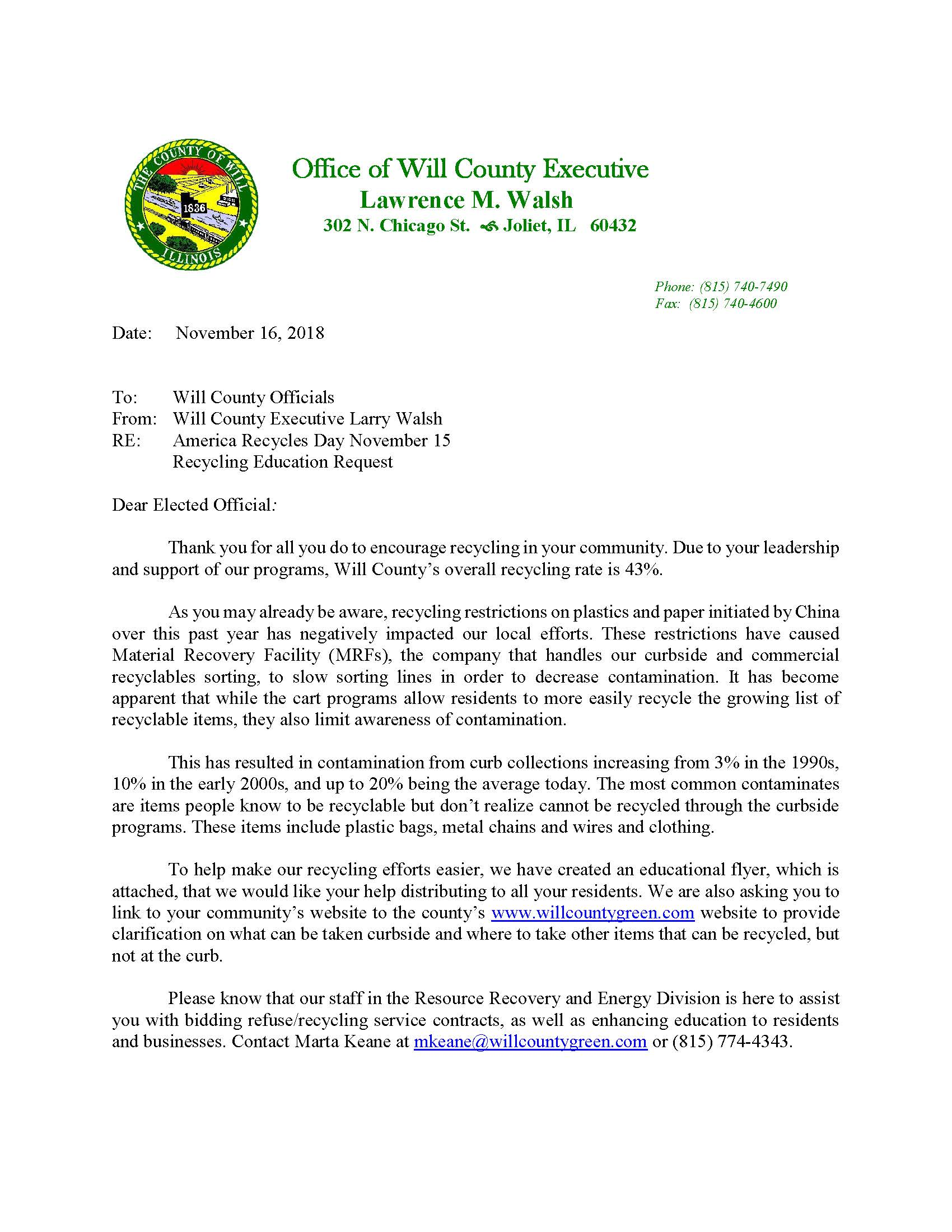 lw letter -- local officals changes in recycling rules 11-16-18_Page_1